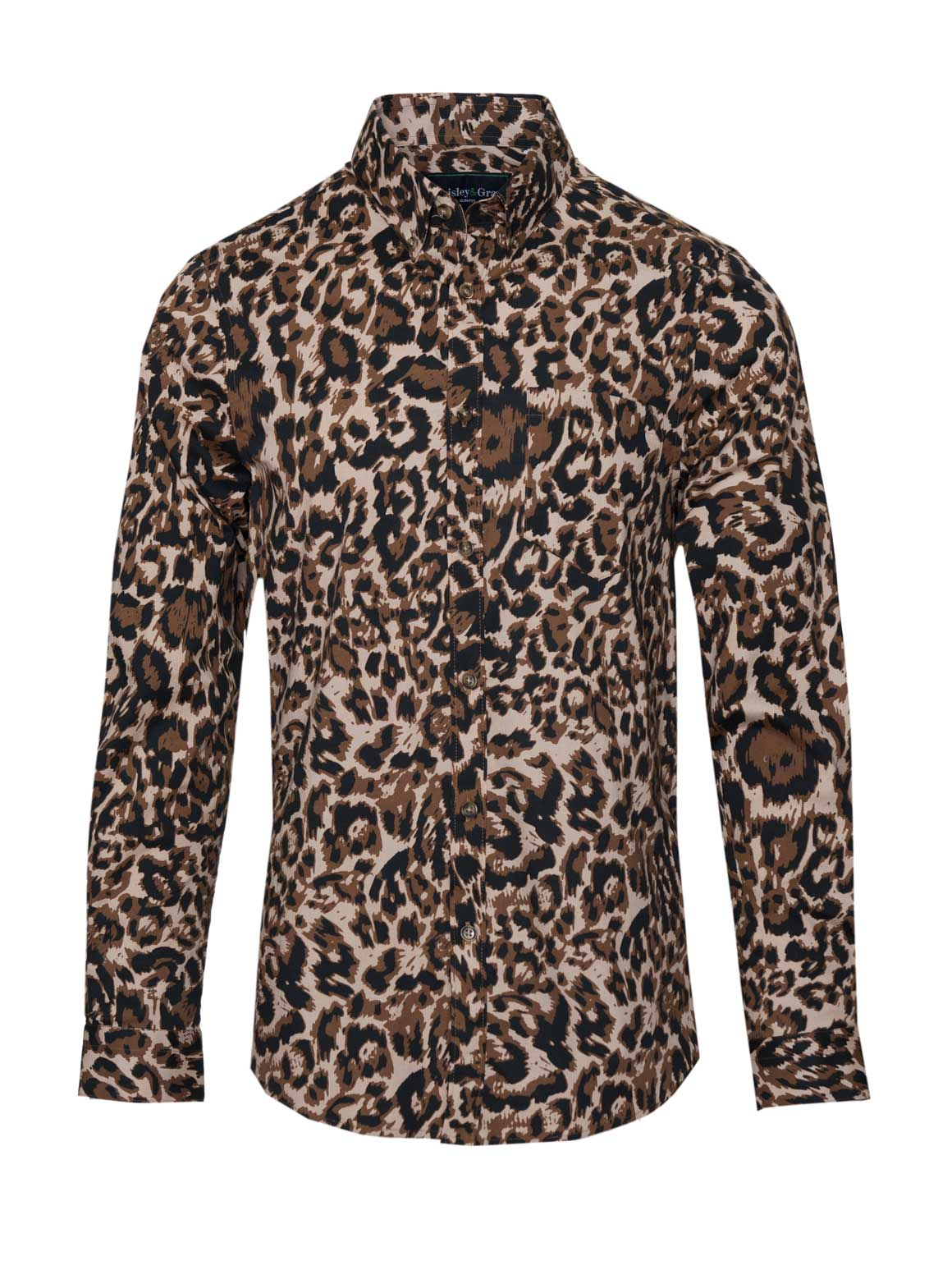 Long Sleeve Shirt - Leopard