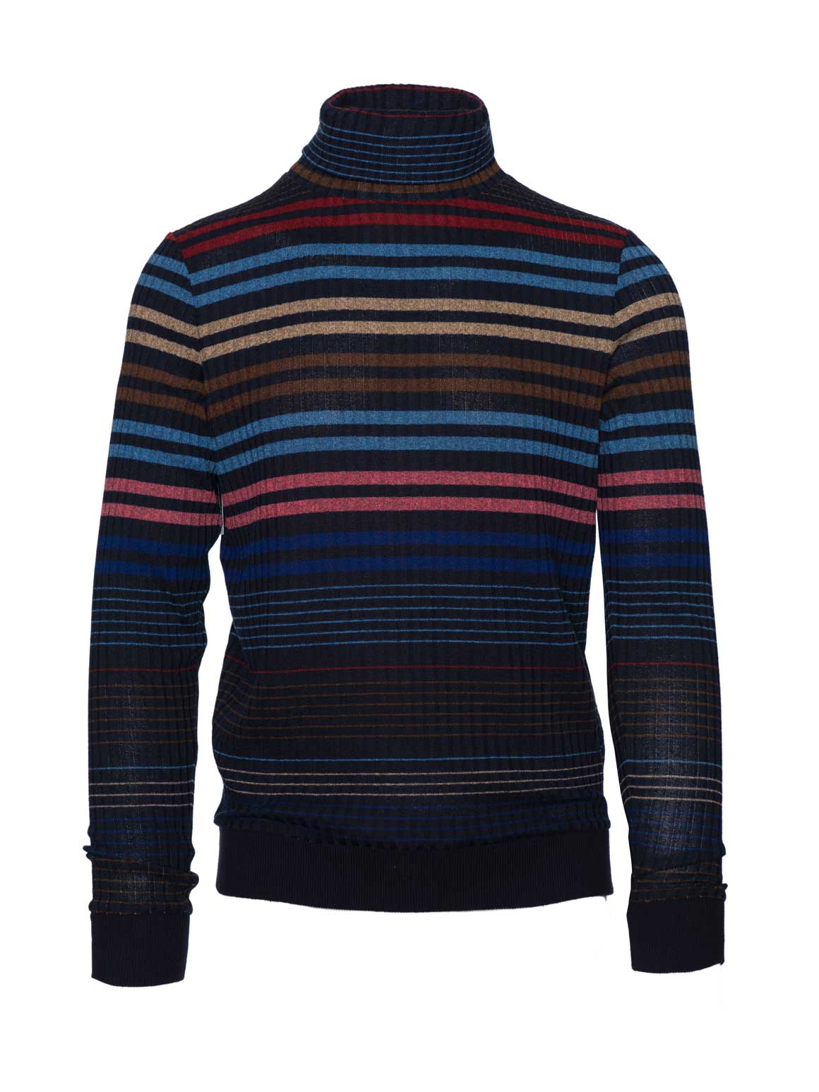 Turtleneck - Blue Stripe