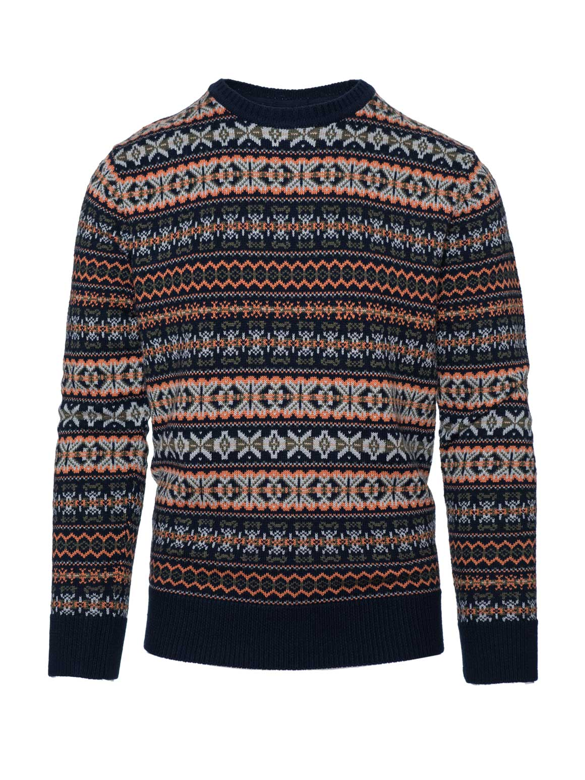 Crew Neck Sweater - Hazzard Multi