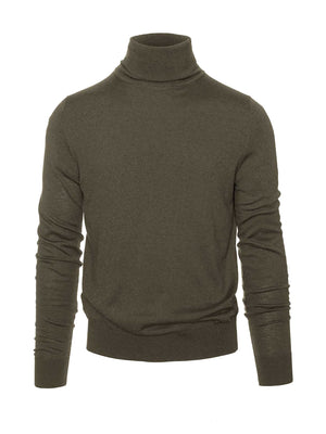 Turtleneck - Army Green