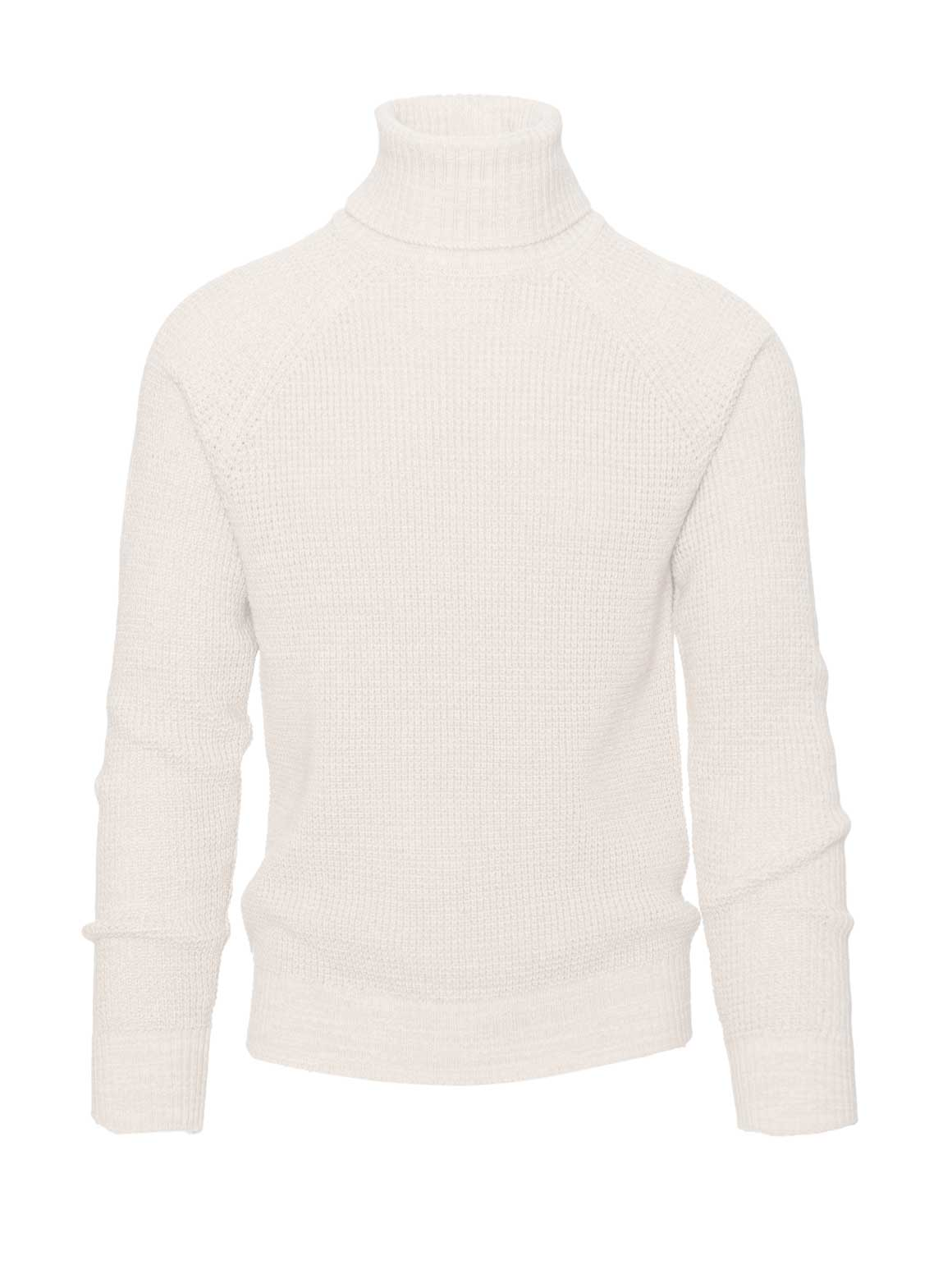 Turtleneck - Cream