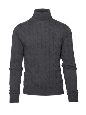 Turtleneck - Charcoal
