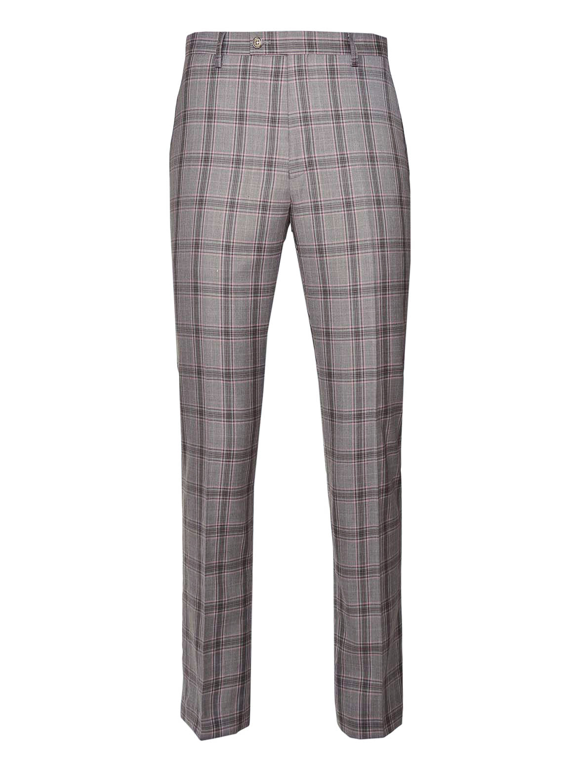 Ltd Edition Downing Pants - Slim - Light Pink Grey Plaid