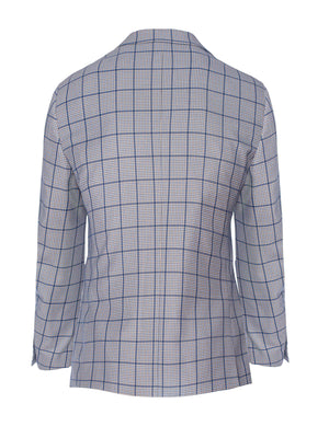Dover Notch Jacket - Slim - Grey Plaid