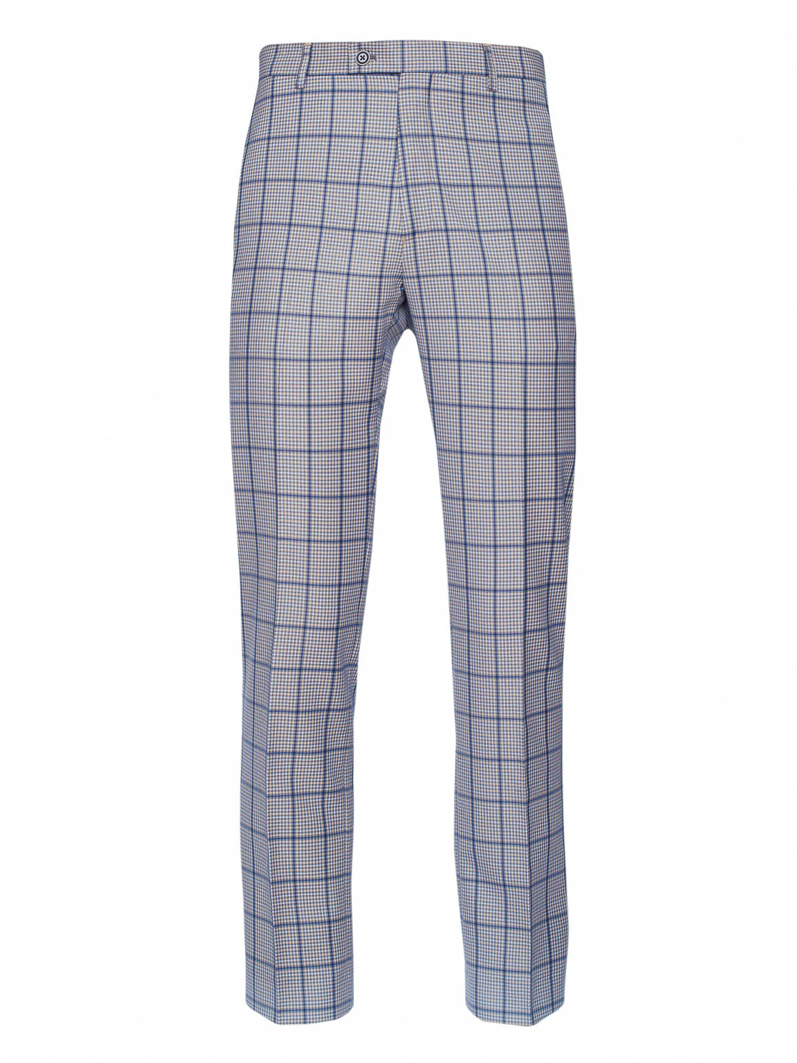 Downing Pants - Slim - Grey Plaid