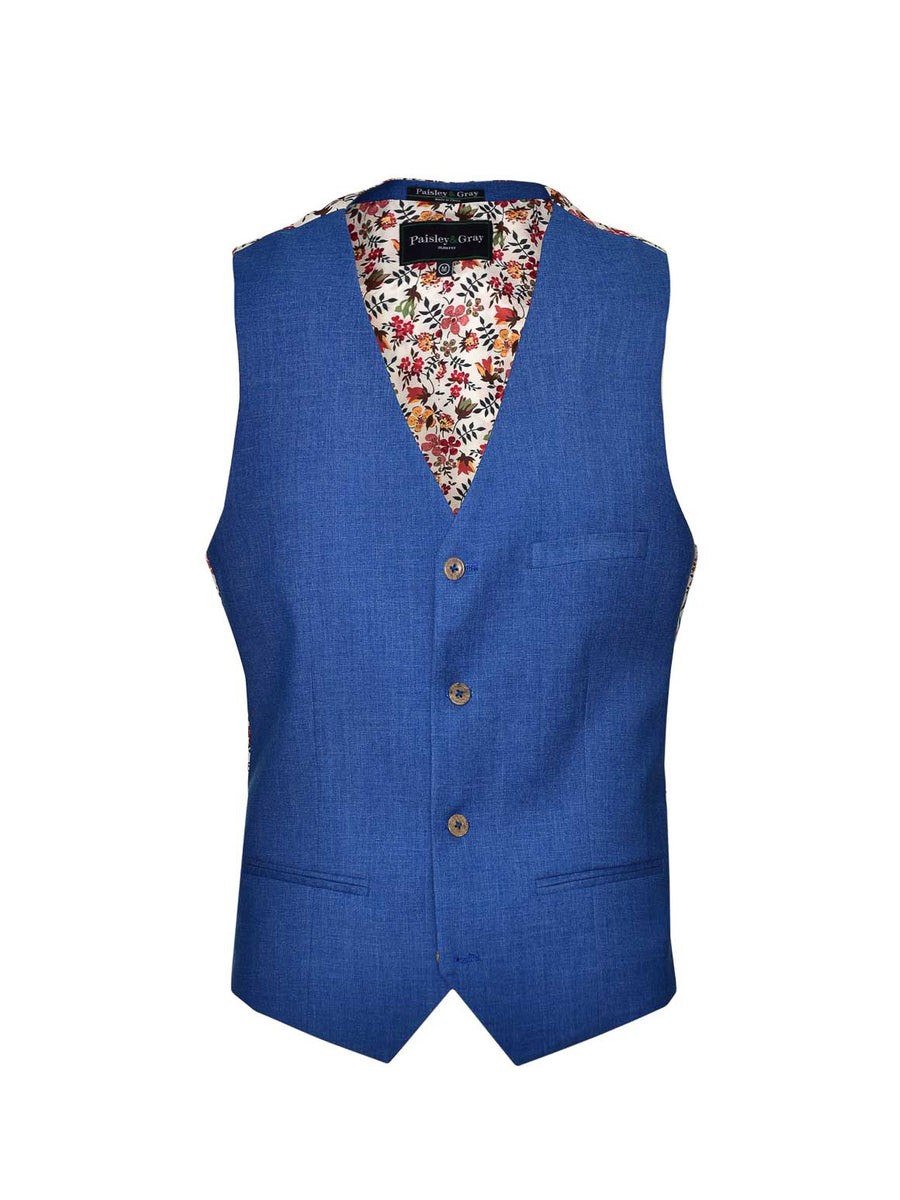 Eaton Vest  - French Blue