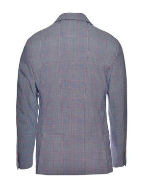 Kingsland Notch Jacket - Skinny - Blue Red Window Plaid