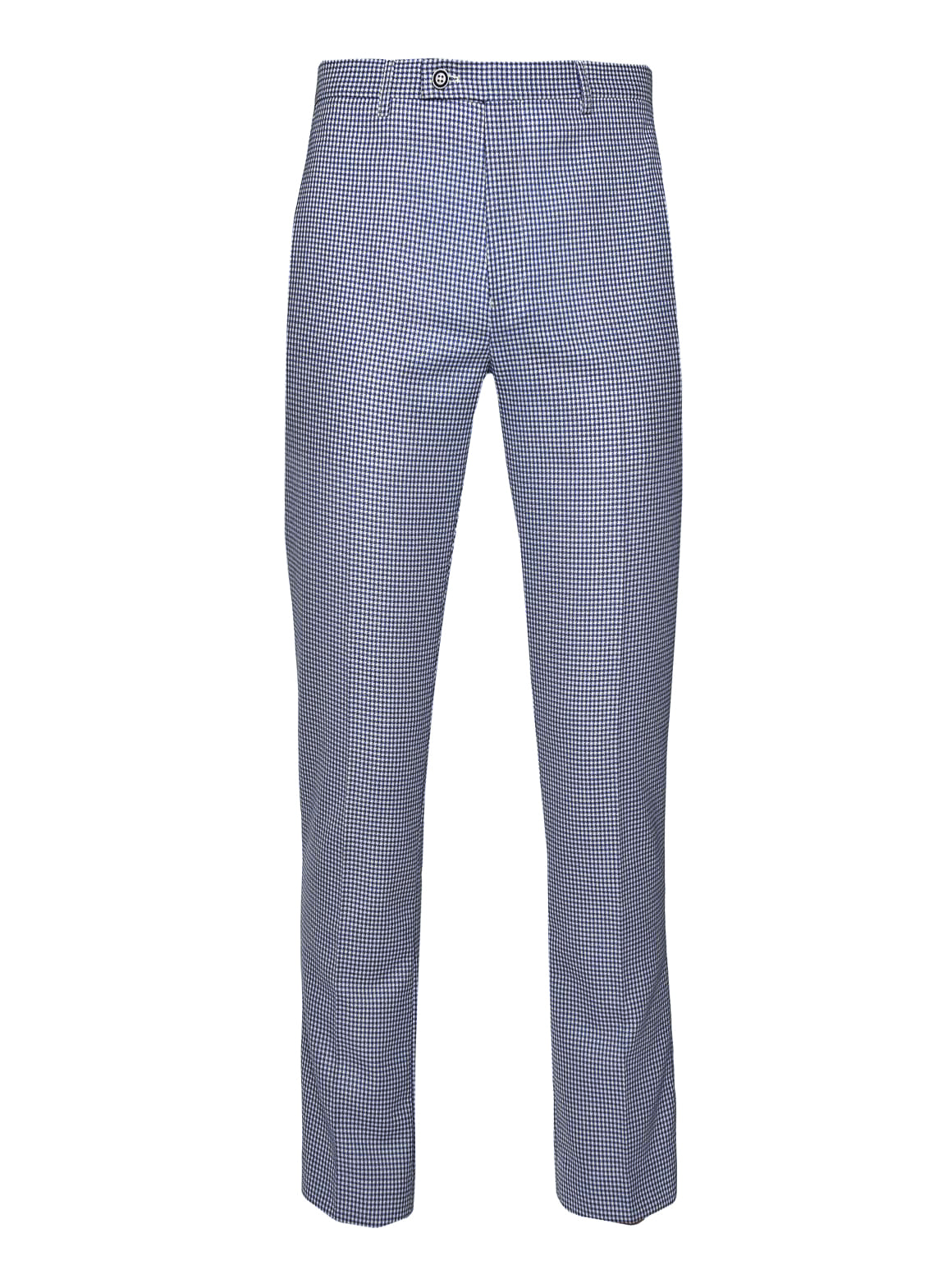 Downing Pants  - Blue White Double Basket Weave
