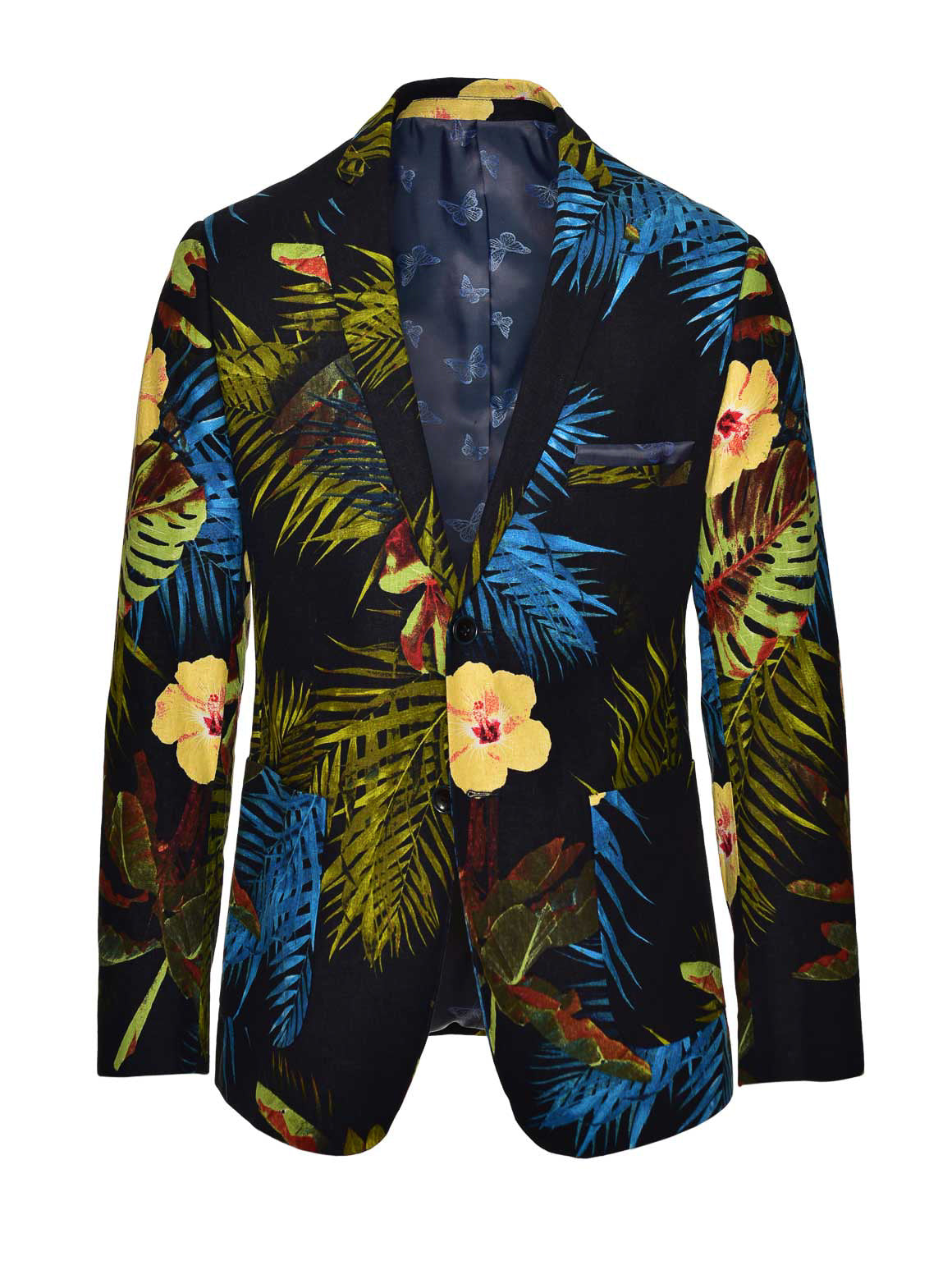 Dover Notch Jacket  - Bright Floral