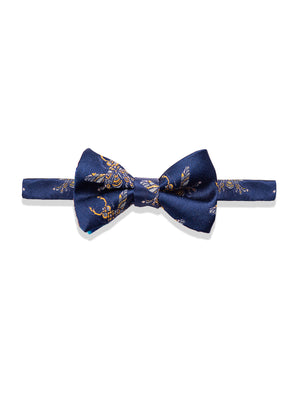 Bradley Bow Tie - Navy Gold Bee