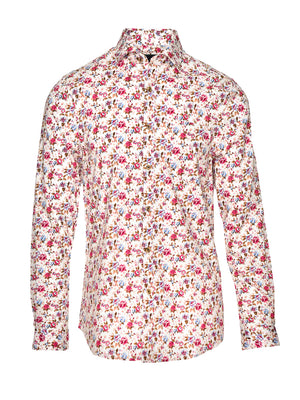 Long Sleeve Shirt - Pink Floral