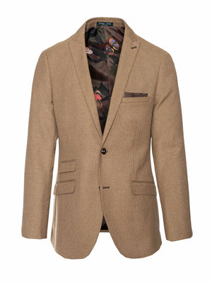 Ashton Peak Jacket - Slim - Camel