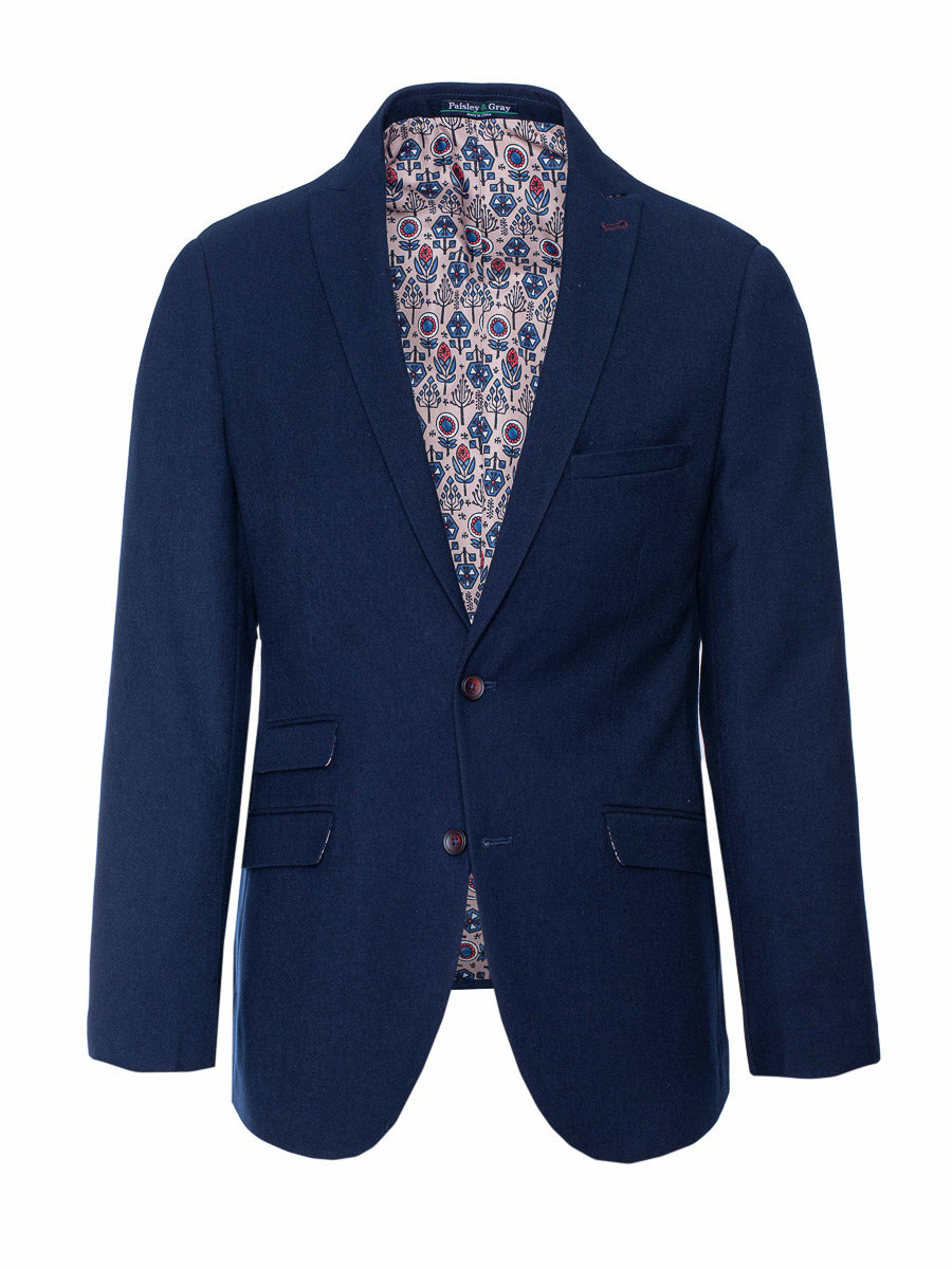 Ashton Peak Jacket - Slim - True Navy