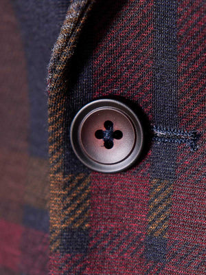 Kingsland Notch Jacket - Skinny - Winterberry Plaid