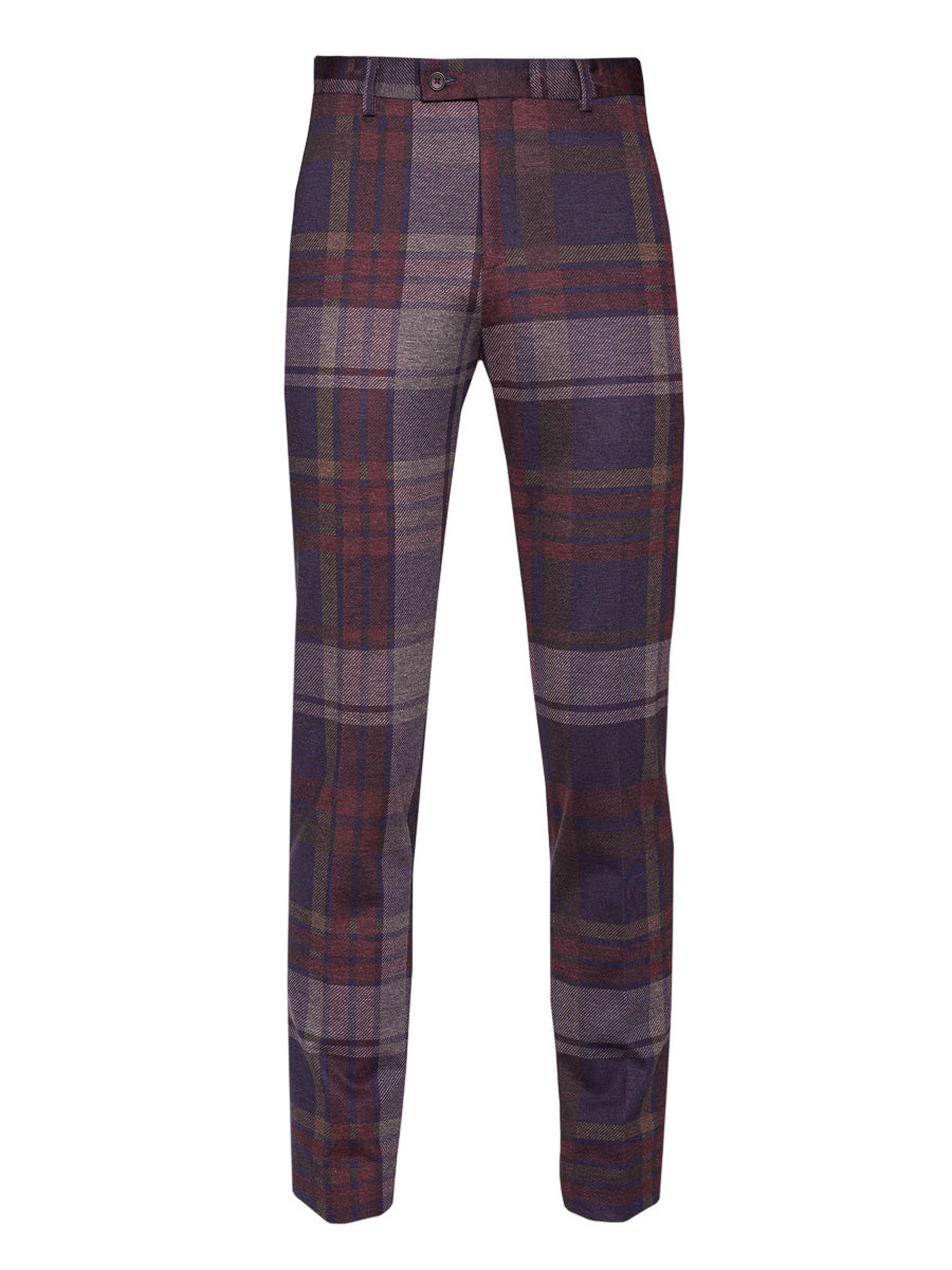 Camden Pants - Skinny - Winterberry Plaid