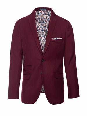 Dover Notch Jacket - Slim - Rich Cabernet