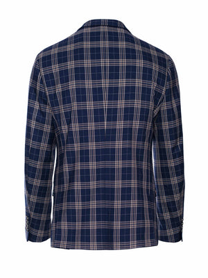 Ltd Edition Ashton Peak Jacket - Slim - Midnight Tan Plaid