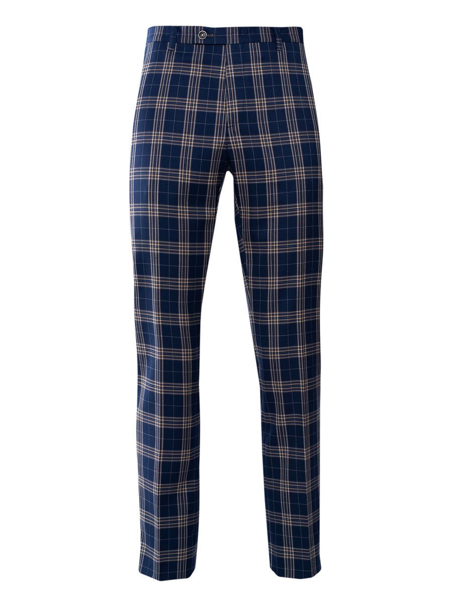 Ltd Edition Downing Pants - Slim - Midnight Tan Plaid