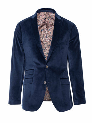 Ltd Edition Ashton Peak Jacket - Slim - Prussian Corded Velvet