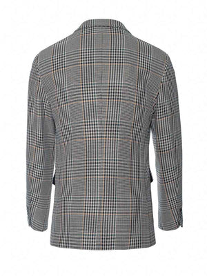Ltd Edition Bromley Notch Jacket - Slim - Bottle Green Plaid