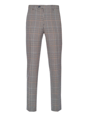 Ltd Edition Downing Pants - Slim - Bottle Green Plaid