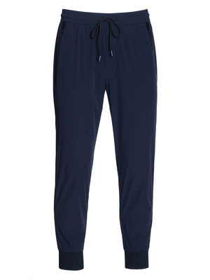 Athleisure Pant - Slim - Navy Perforated