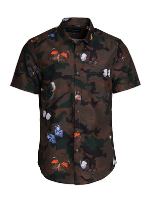 Swim Shirt - Army Butterfly Camo