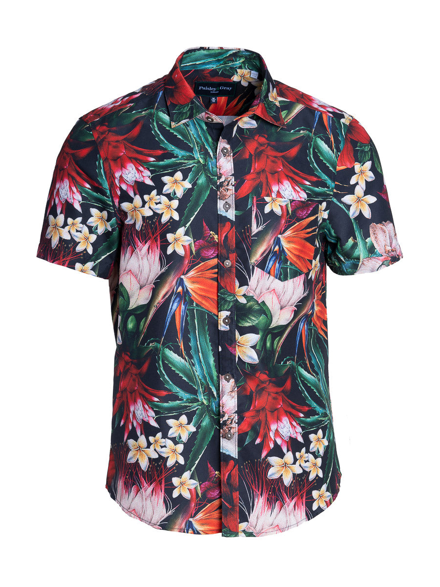 Swim Shirt - Bird of Paradise