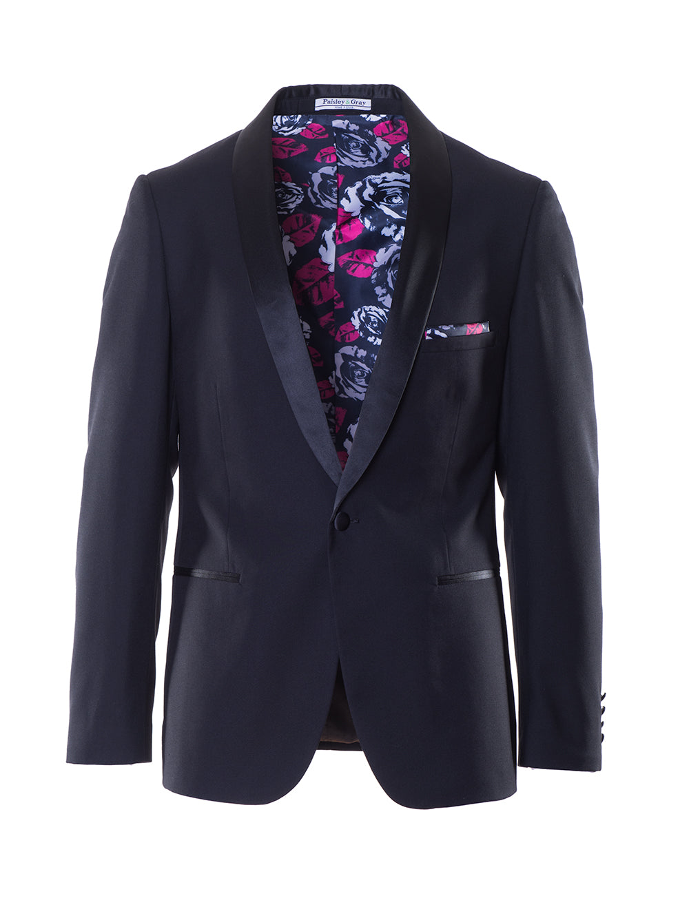 Regent Shawl Dinner Jacket - Black