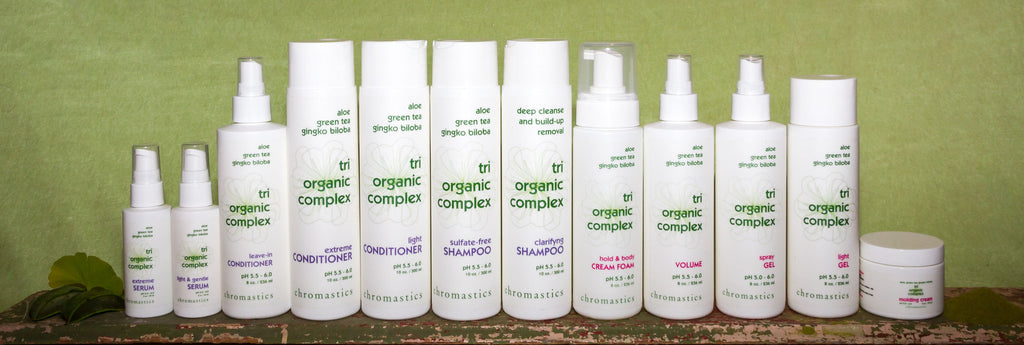 Using Tri-Organic Complex Products