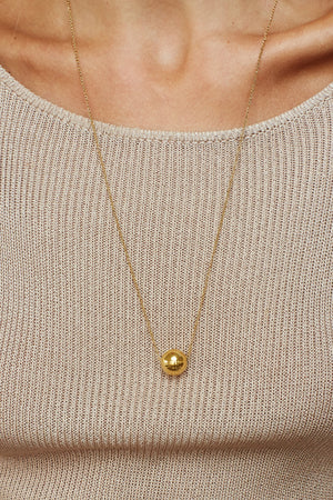 Adjustable Sphere Necklace