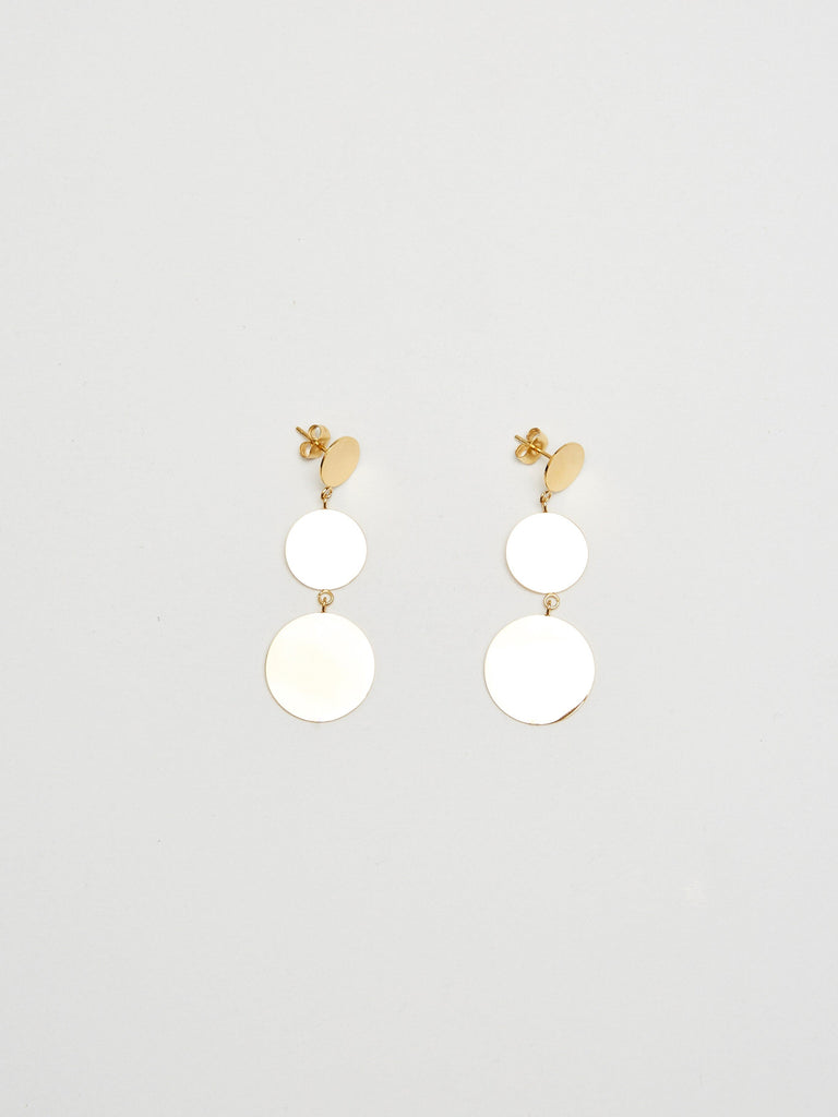 Dangle Dot Earrings Earrings Bagatiba