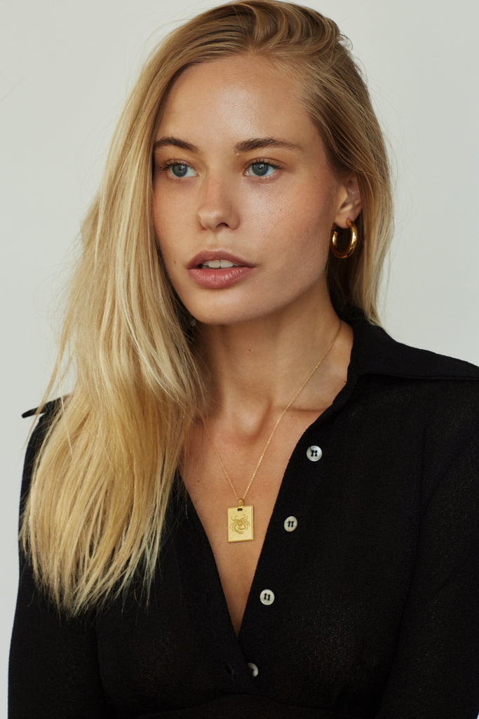 Mini Gold Hollow Hoops Earrings Bagatiba