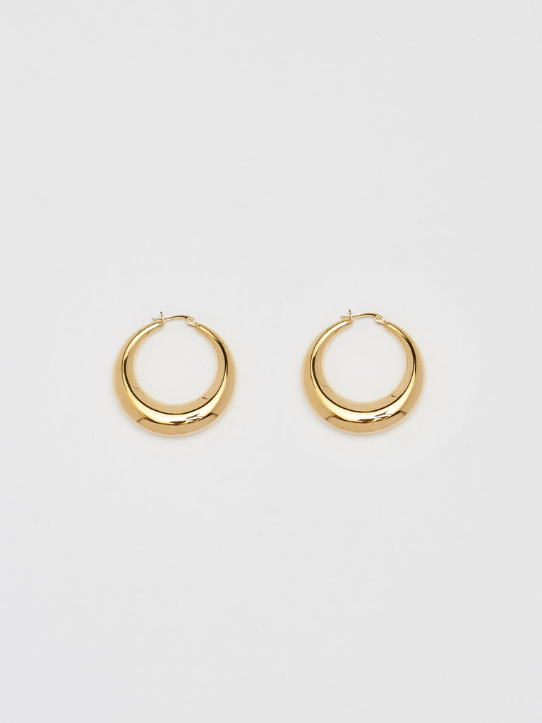 Orb Hoops Earrings bagatiba