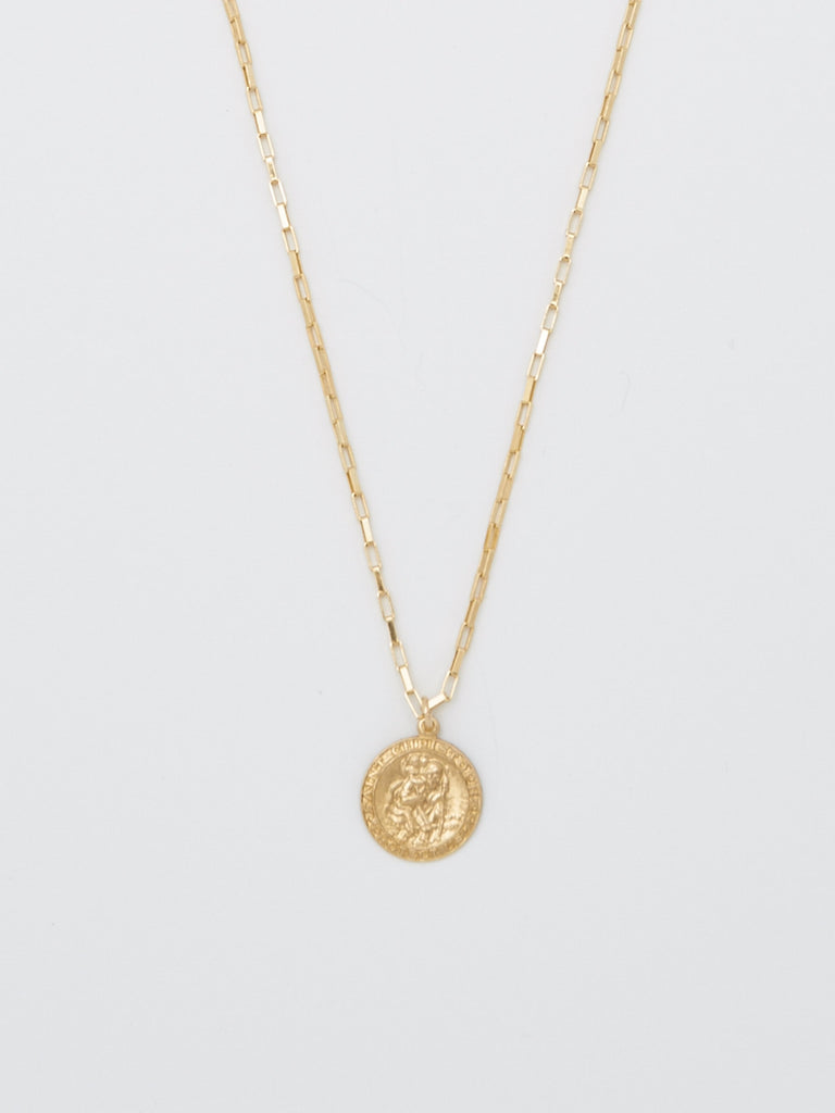 Saint Christopher Box Chain Necklace neckalce Bagatiba