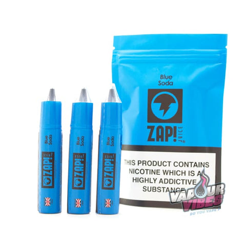 Blue Soda eLiquid by Zap Juice 30ml - Vapour Vibes