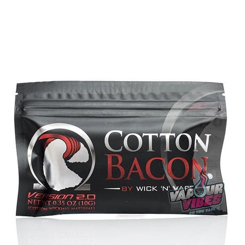 Cotton Bacon By Wick 'N' Vape - Vapour Vibes