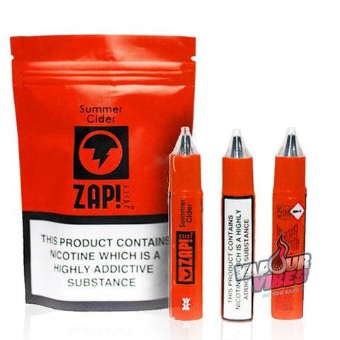 Summer Cider eLiquid by Zap Juice 30ml - Vapour Vibes