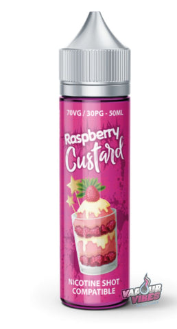Sweet Treats Raspberry Custard Eliquid E-Liquid