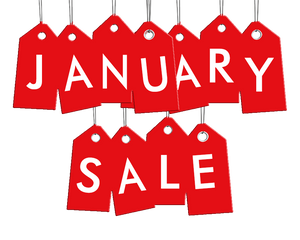Big January Sale Now On! Save 20-40% Using These Codes - [Expired]