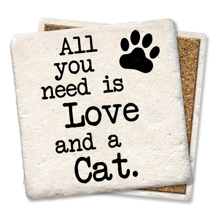 Coaster- All You Need Is Love and a Cat