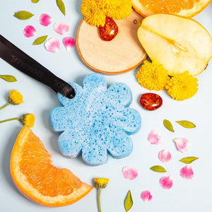 Wild Flower Bath Sponge: Beach Grass