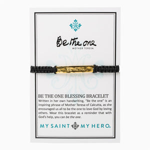 Be the One Bracelet- Black/Gold - Inspired Style Boutique