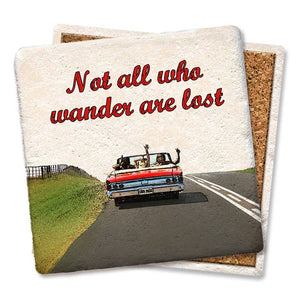 Coaster- Not All Who Wander Are Lost