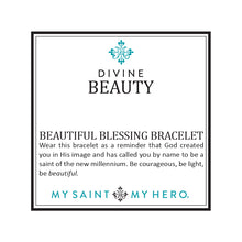 Divine Beauty Beautiful Blessing Bracelet- Platinum/Silver - Inspired Style Boutique