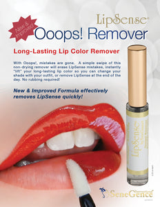 LipSense- Ooops! Lip Color Remover