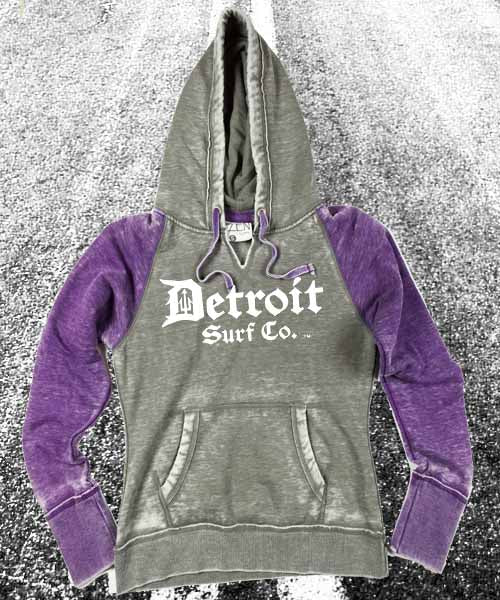 Detroit Surf Co. Ladies Sweatshirts