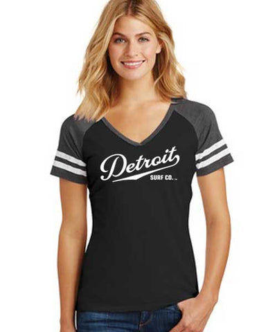 Detroit Surf Co. Varsity T
