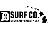 Detroit Surf Co. MI-HI logo
