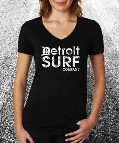 Detroit Surf Co Ladies Logo Wear